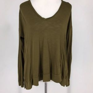 Madewell 1937 Top Sheer Long Sleeve Size Small